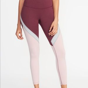 Old Navy High Waisted Compression Leggings